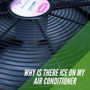 Ice on AC Unit