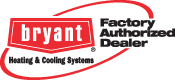 Bryant Heating & Cooling logo showing Charlie's Tropic Heating and Air as an authorized dealer in Atlantic Beach, FL
