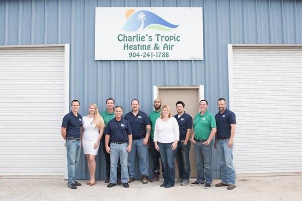 Team of emergency air conditioning repair service Charlie's Tropic Heating & Air in Atlantic Beach, FL